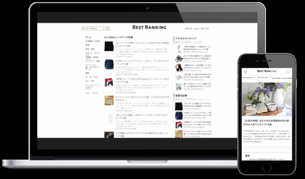 BestRankingアプリイメージ